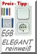 EGB ELEGANT weiß -Preis-Tipp mit vielen Gestaltungsmöglichkeiten! Zur Übersicht bitte anklicken